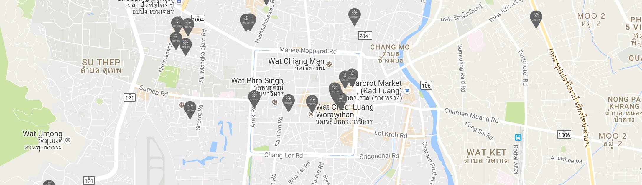 Free Coffee Map