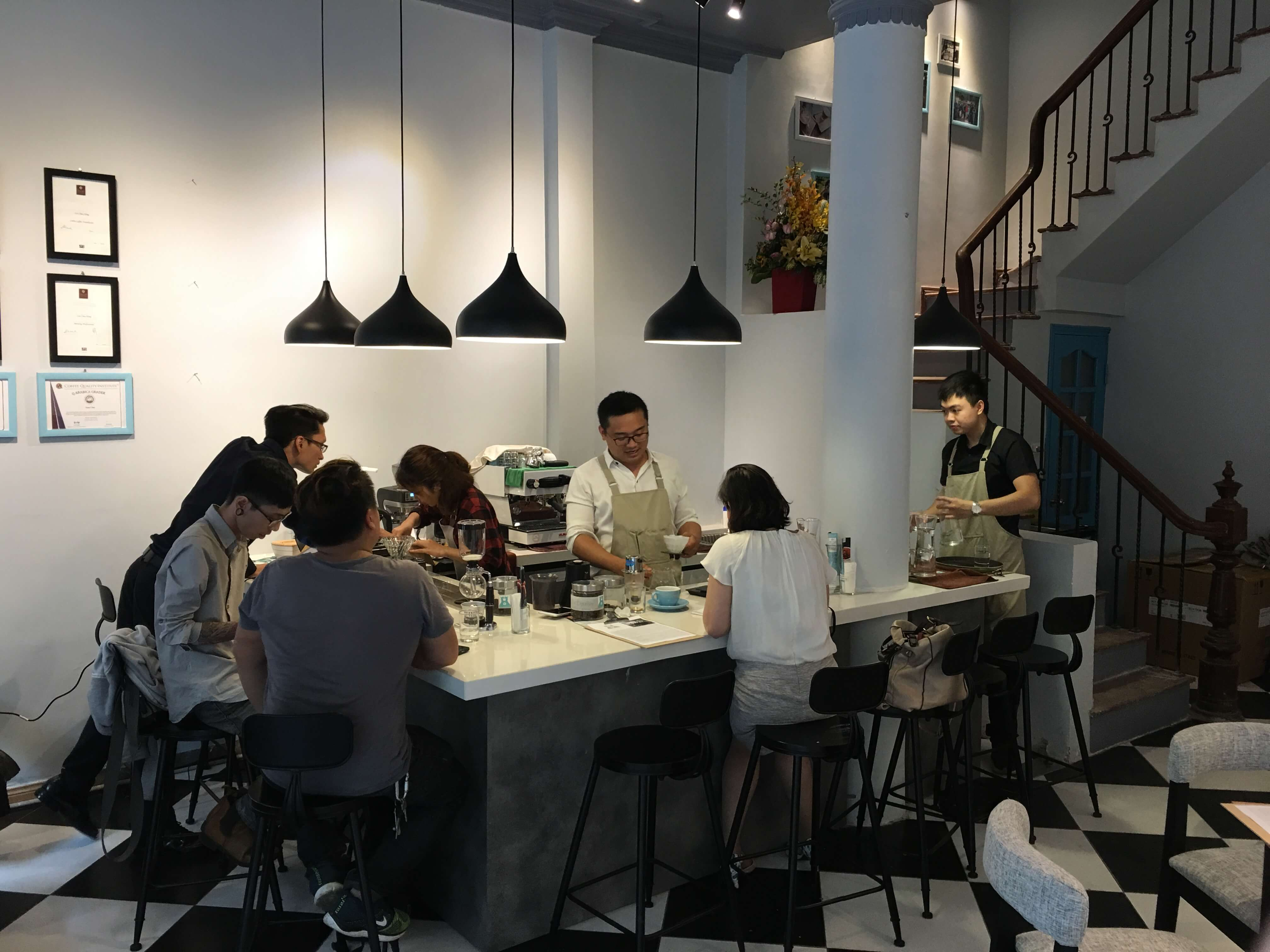 D'Codes Specialty Coffee Lab and Campus Hanoi 1
