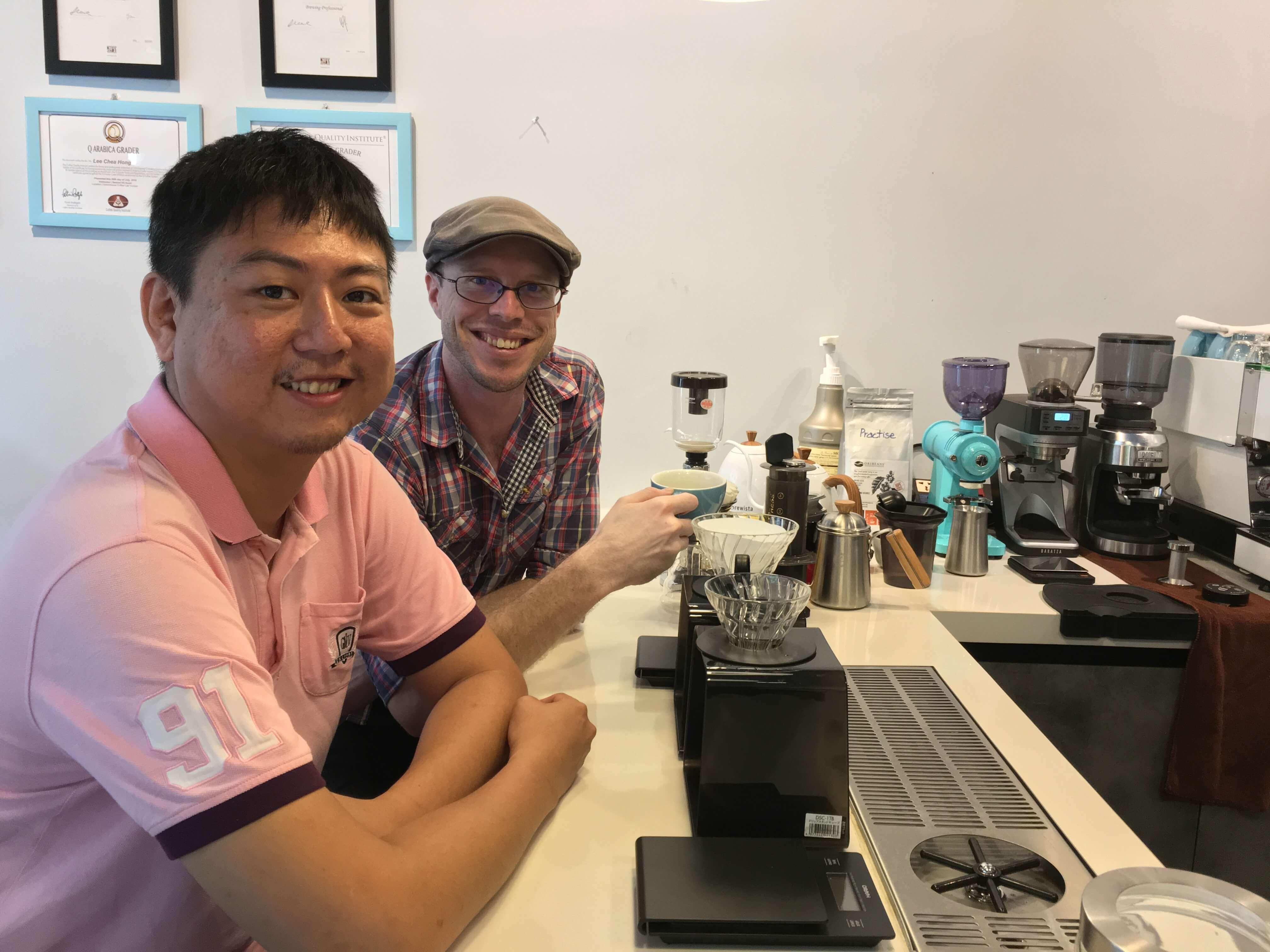 D'Codes Specialty Coffee Lab and Campus Hanoi Caden