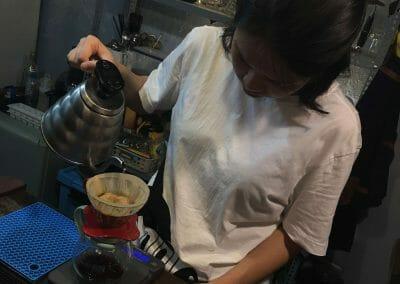 KafeVille Cafe pour over
