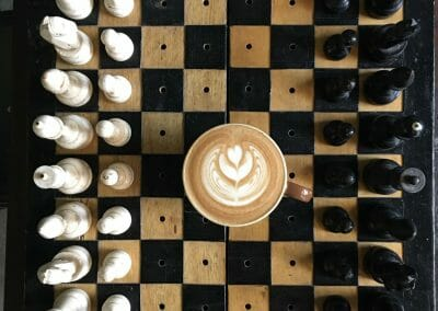 KafeVille Latte Chess