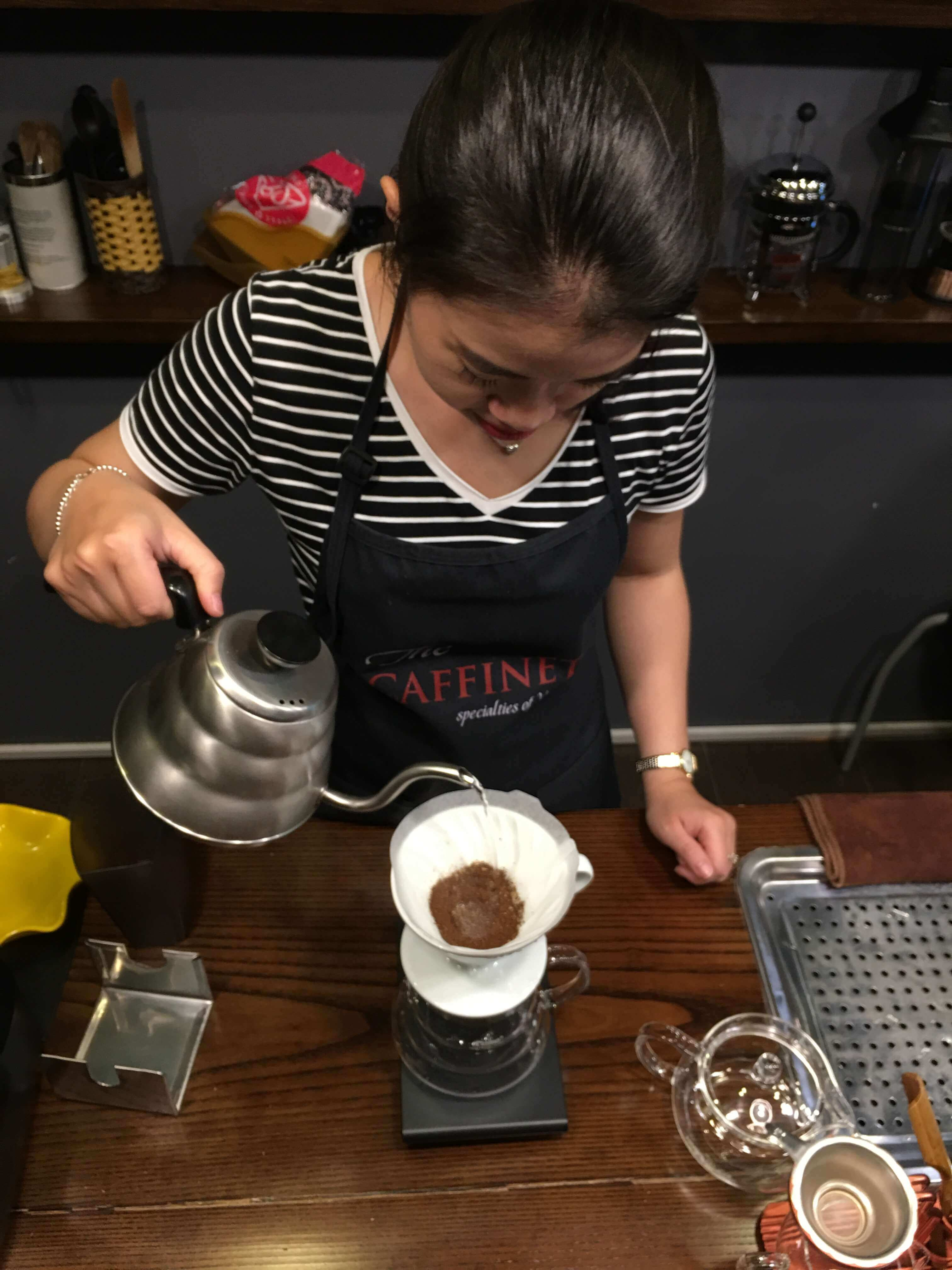 The Caffinet Pour over