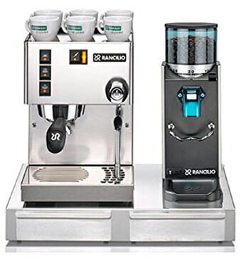 espresso and grinder combo pack