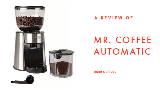 coffee bvmc bmh23 automatic burr machine
