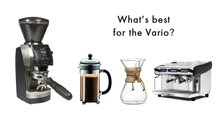 suitable coffee type for baratza vario