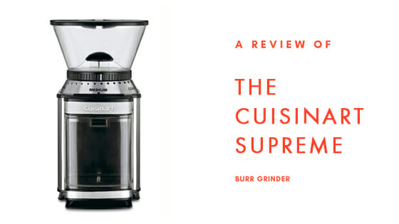 cuisinart dbm 8 review