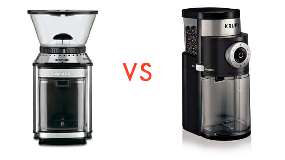 comparison with Krups coffee grinders