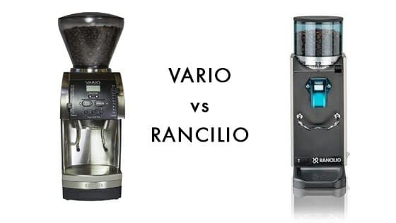 comparison with rancilio