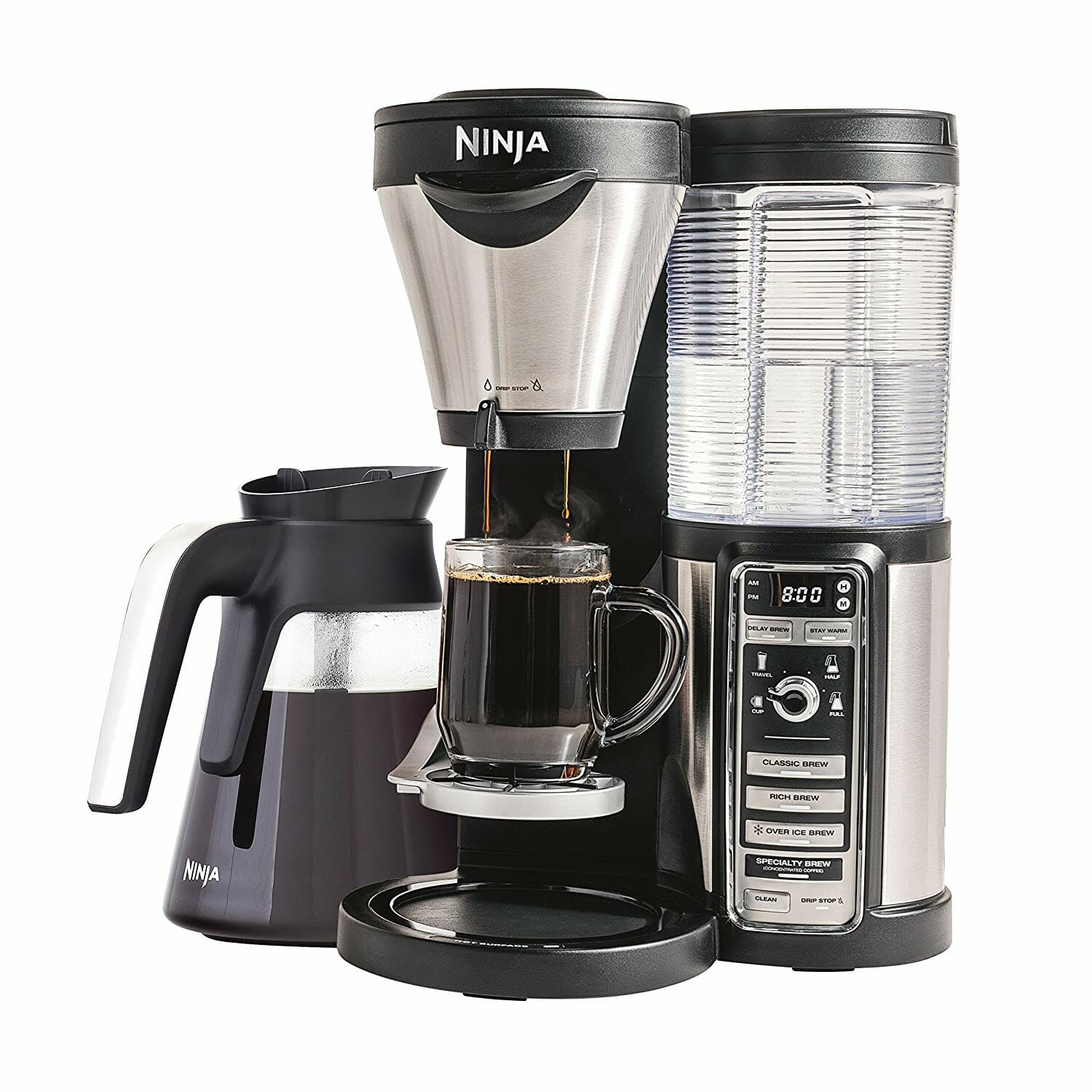 ninja CF080Z with 5 cup glass carafe