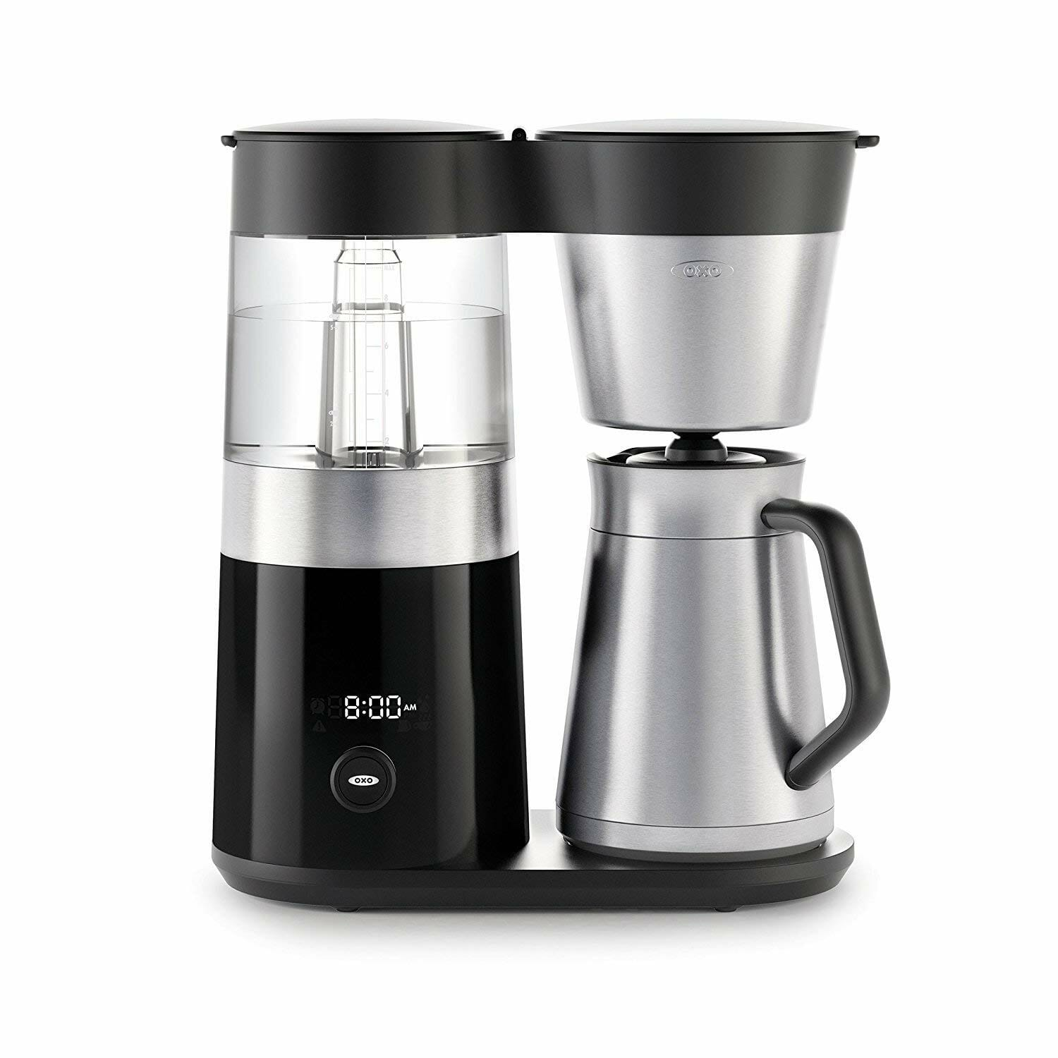 Oxo drip machine with filter basket for 9 cup