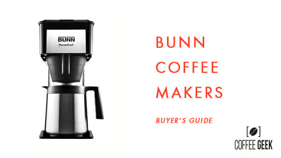 best bunn coffee makers review