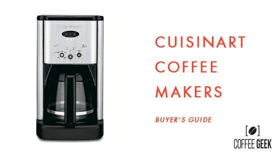 cuisinart best coffee maker guide