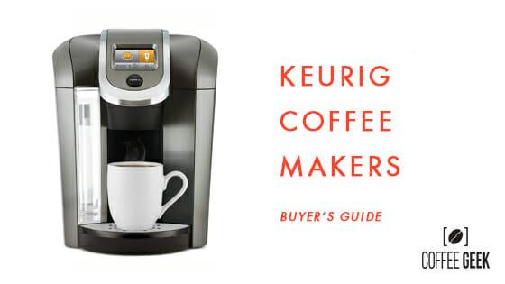 things to consider before buying Keurig coffee maker