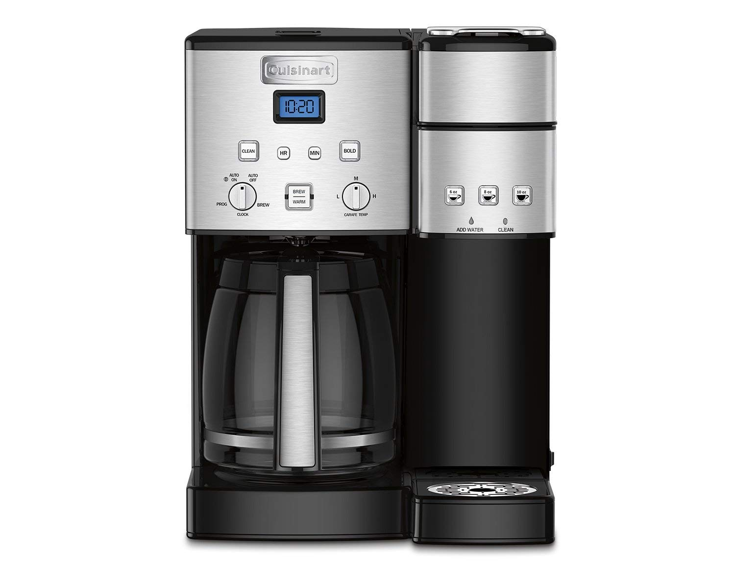 SS gold tone 12 cup coffee maker
