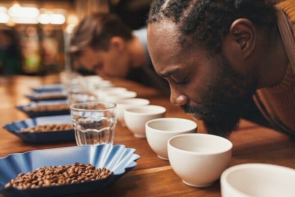 cupping and aroma