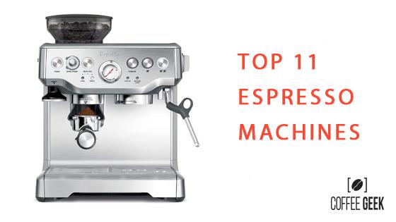 best espresso machines featured image