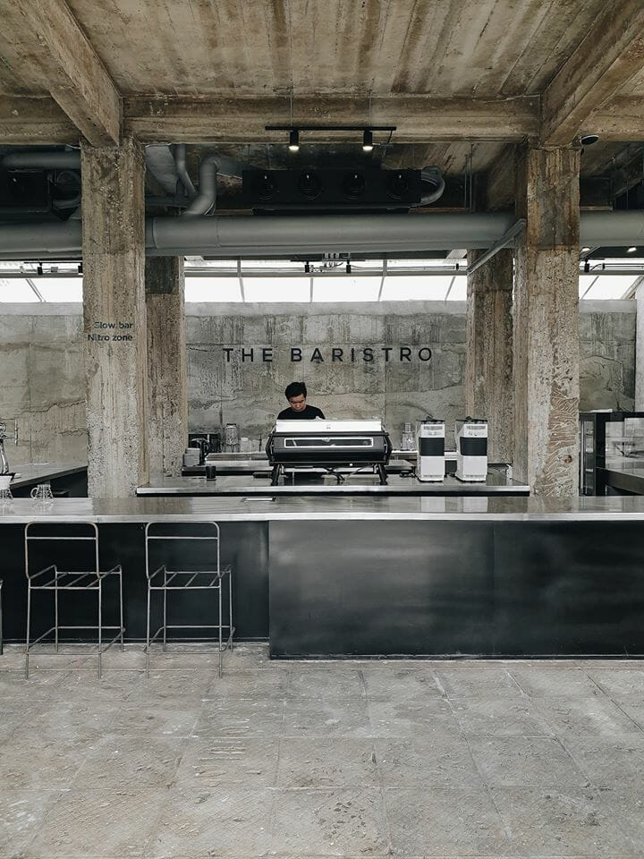 Baristro at the Train Station