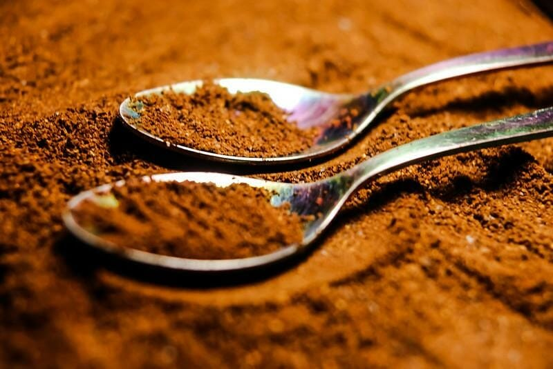 Fresh Coffee Grinds