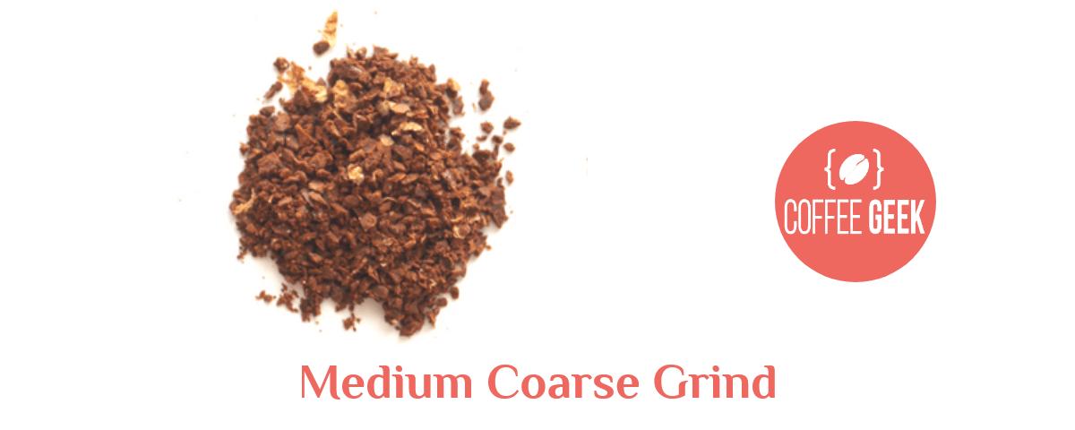 medium coarse grind